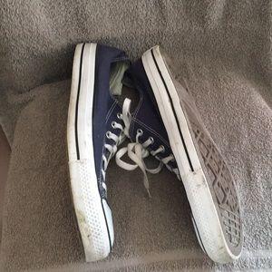 Converse Shoes - Converse navy All-Stars Sz13